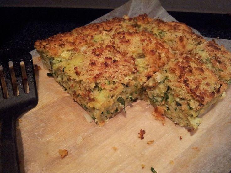 Recipe photo: Savoury marrow bake