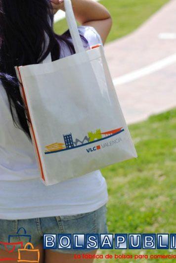 bolsas impresas de tela con logo