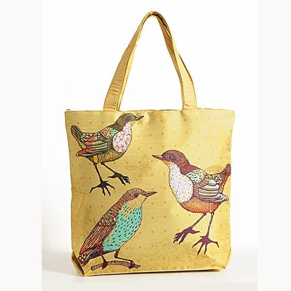 Animal Theme Bag - Birds-3