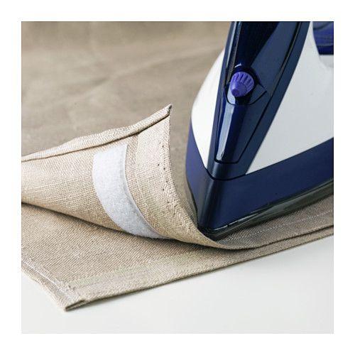 KARDBORRE Klettband, aufbügelbar IKEA Eine pfiffige Lösung, wenn man Textilien säumen will ohne zu nähen.