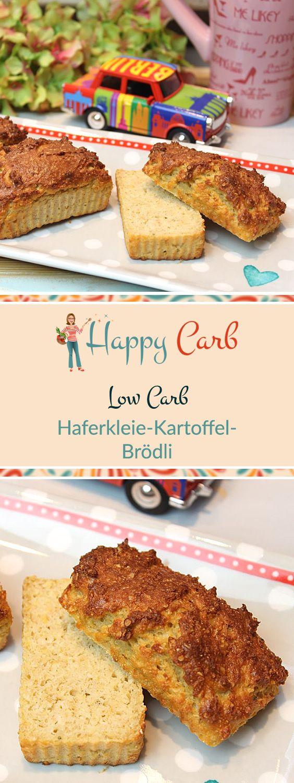 Die kleinen Mini-Brote sind wie leckere Brötchen.  Low Carb Rezepte von Happy Carb. https://happycarb.de/rezepte/backen/haferkleie-kartoffel-broedli/