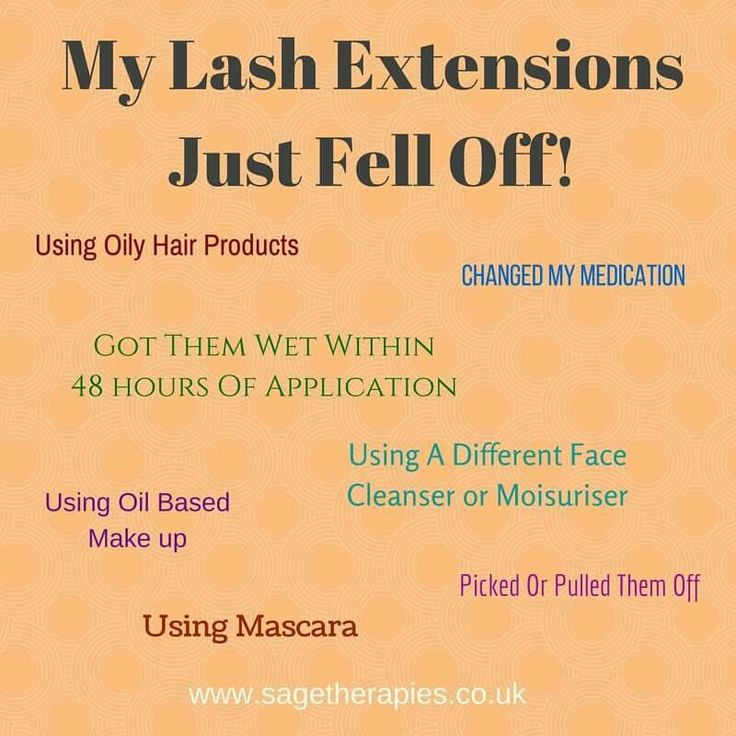Eyelash extension after care and taking responsibility for your lashes, is…