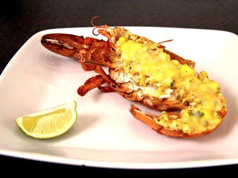 Gratinerad hummer på karibiskt vis | Recept.nu