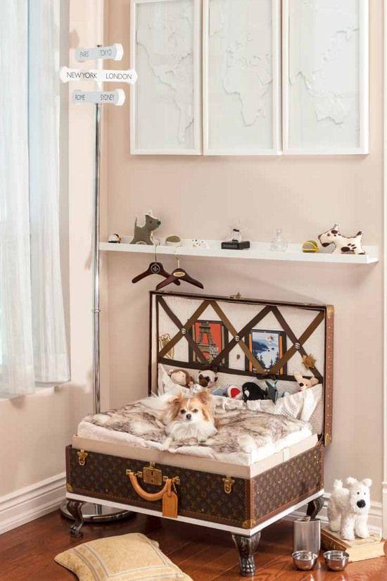 165 best Pawsh Decor AKA Dog Spaces images on Pinterest Dog - dog bedroom ideas