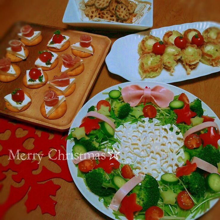 クリスマスパーティー♪サイドメニュー☆ | ペコリ by Ameba - 手作り料理写真と簡単レシピでつながるコミュニティ -