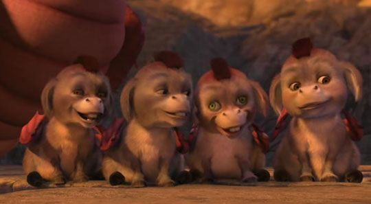 Oh my, Donkey and Dragon babies from Shrek 3, can I please have one.