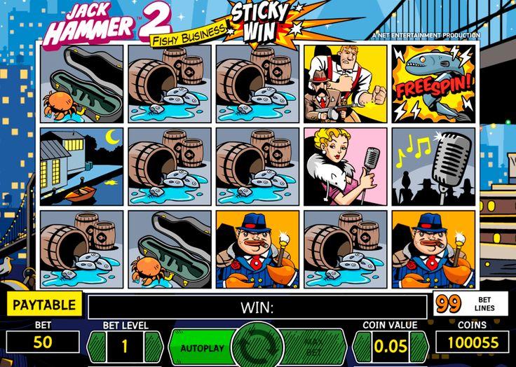 Seikkailot, juoksut, salaisuudet #NetEnt kolikopelillä Jack Hammer 2 on kaikki nämä! Hyvää mielialaa on taattu + isot voitot.