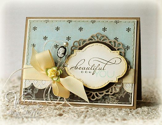 Beautiful You by PickleTree - Cards and Paper Crafts at Splitcoaststampers