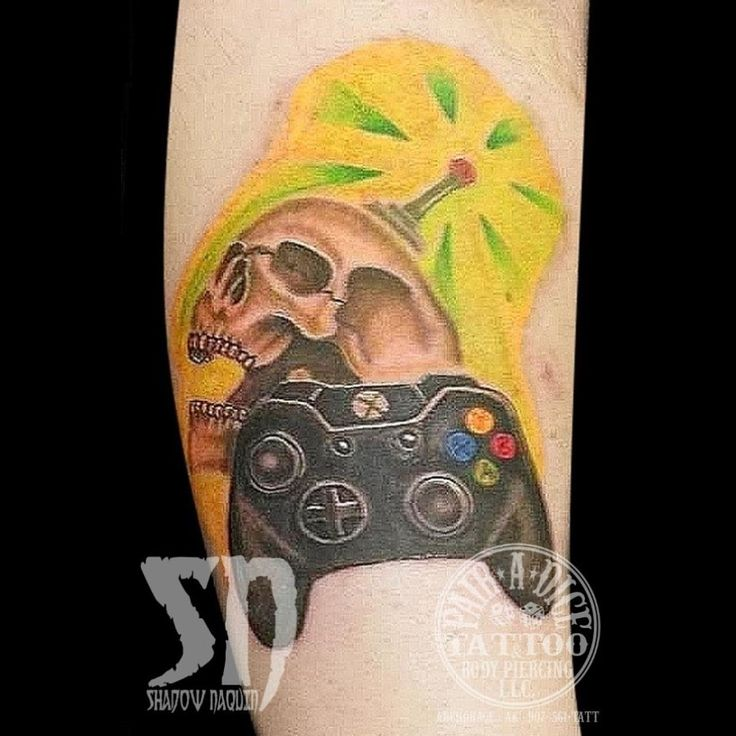 Xbox Tattoo Ideas: 18 Best Tattoo By Shadow Naquin Images On Pinterest