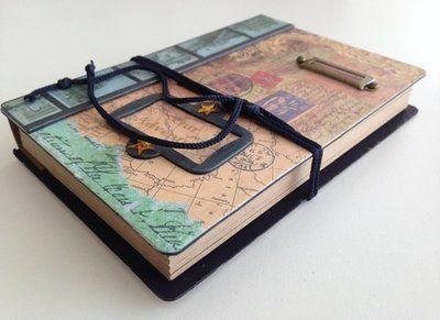 Vintage Scrap Hardcover Notebook: http://www.stationeryheaven.nl/notebooks