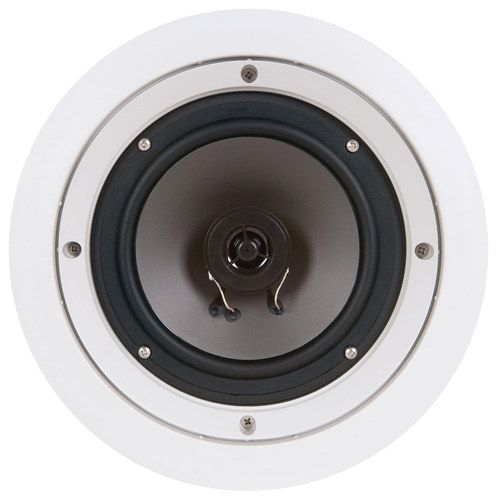 """SpeakerCraft - WH6.1R 6-1/2"""" 2-Way In-Wall Speakers (5-Pack) - White"""