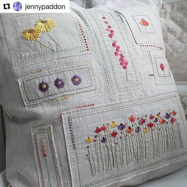@jennypaddon #embroidery #broderie #bordado #ricamo #handembroidery #needlework