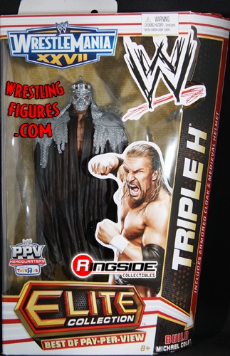 RINGSIDE COLLECTIBLES WWE TRIPLE H BEST OF PAY PER VIEW ELITE EXCLUSIVE WWE Wrestling Action Figure