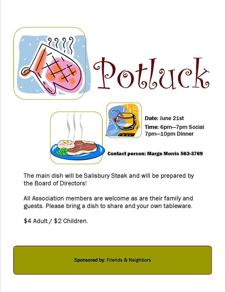 7 best Pot-Luck Theme Ideas images on Pinterest Food, Breakfast - food sign up sheet template