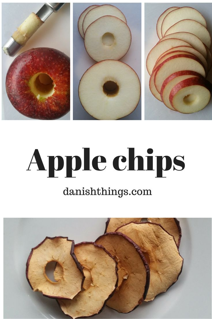 Autumn/Fall And Apple Chips - Dried Apple Rings