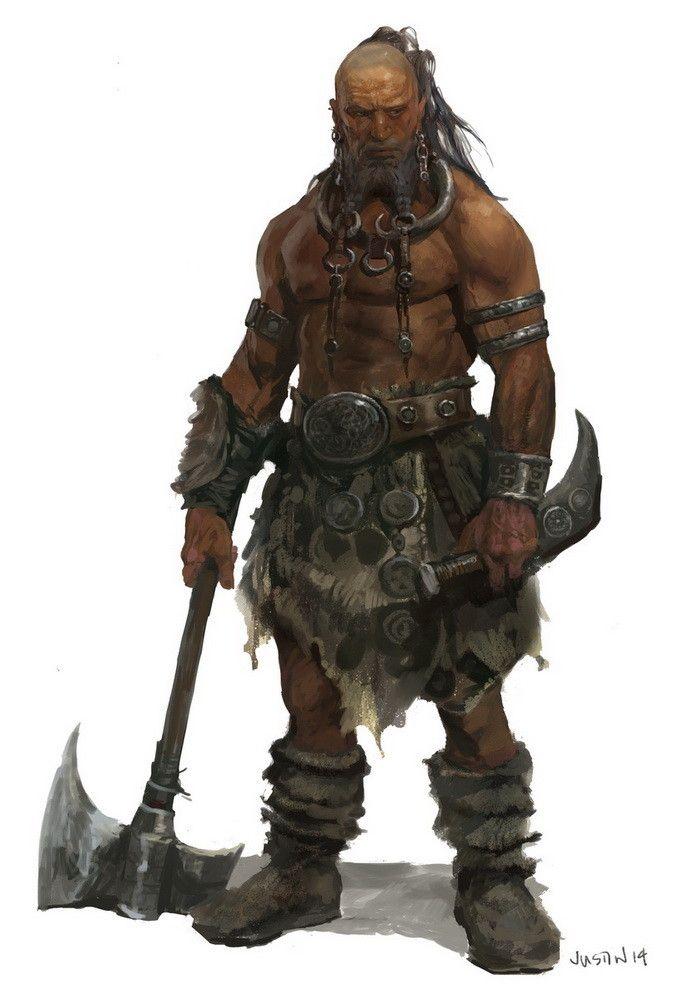 Guerrier des clans du Pykaraid