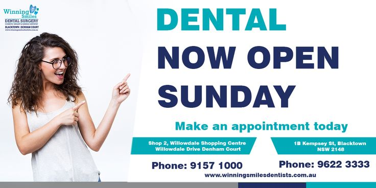 Looking for a dentist open on Sunday? Give us a call at 9622 3333 | 9157 1000 for schedule an appointment for dentist open on Sunday!