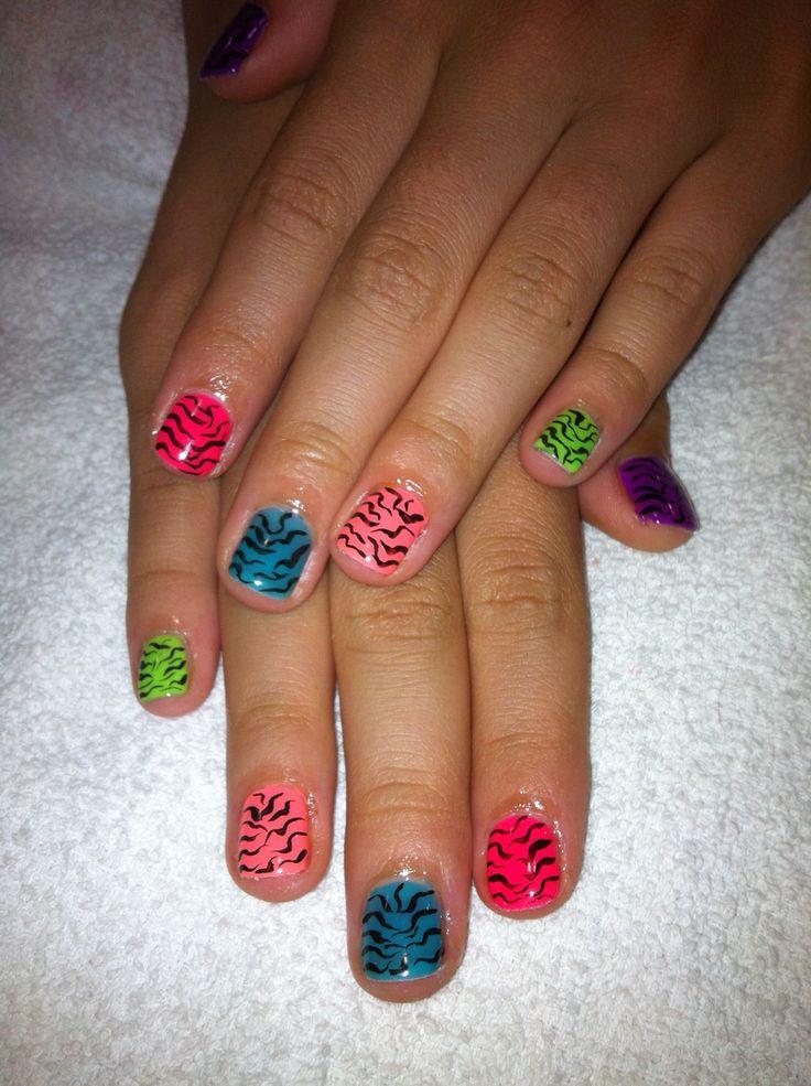 Gelish tiger nails