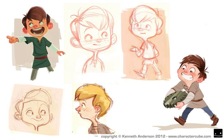 Character Design, Illustration and Concept Art by Kenneth Anderson: You win some... You lose some...