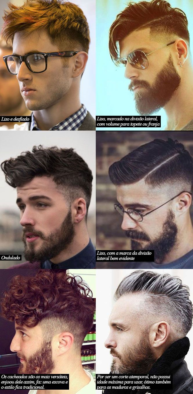 Cortes masculinos #coupe #hommes #coiffure