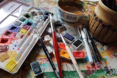 Aquarell malen für Einsteiger:  Du brauchst nur zwei Dinge dafür – Mut und das richtige Material. So startest du in die kreative Malerei. #Aquarell #Einsteiger