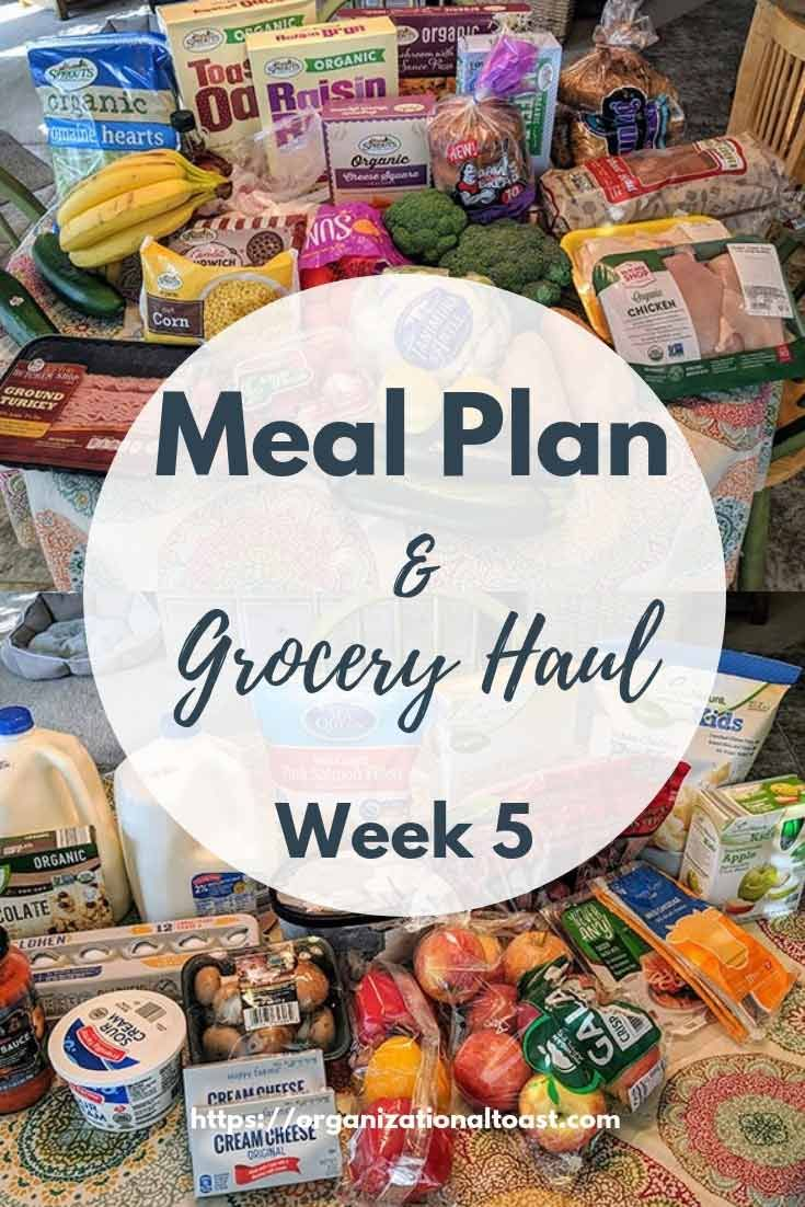 Grocery Haul and Meal Plan – Week 5