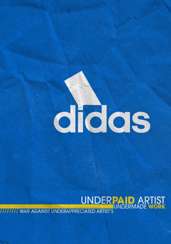 Underpaid Advertising Design