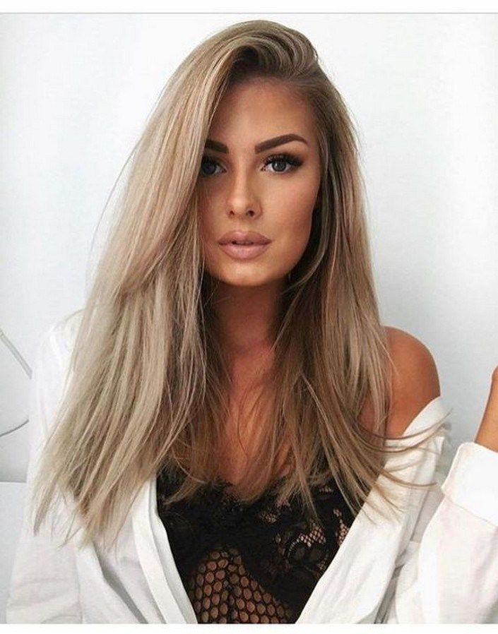 56 Blonde Balayage Highlights to Try in 2019 #blondehairstyles #blondebalayageha…