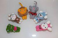 Tina's handicraft : decorative gadget pet for closing bags Gift