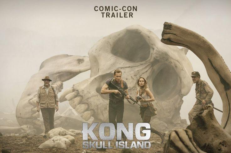 Kong: Skull Island Official Comic-Con Trailer (2017)