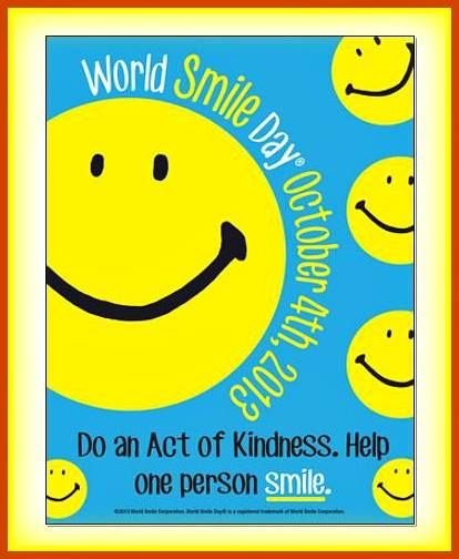 It's World Smile Day