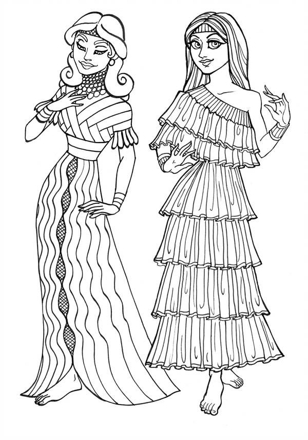 Antiguas Chicas Sumerias De Gingeropal Ancient Sumerian Mesopotamia Sumerian