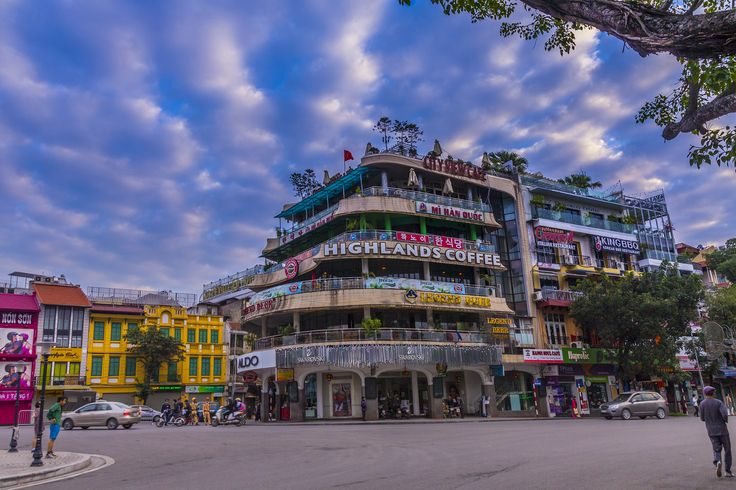 Hanoi - Dinh Tien Hoang streets