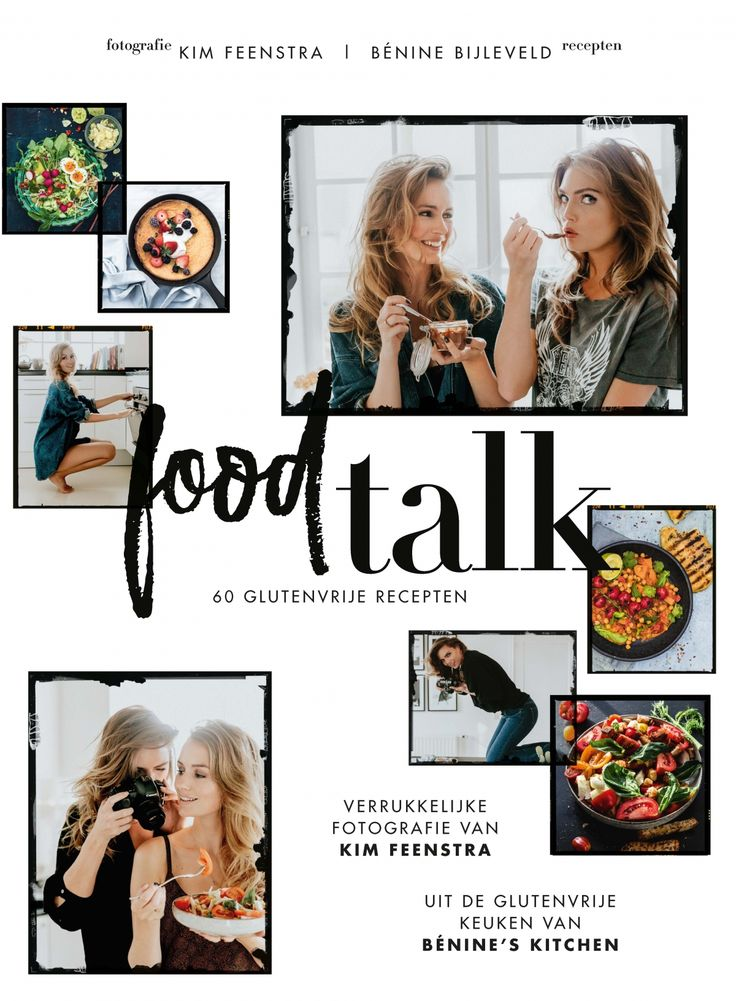 Food talk van Kim Feenstra en Bénine Bijleveld! In dit hippe, toegankelijke #glutenvrije kookboek vind je alles van heerlijke ontbijtjes tot stunning salades, en van fashionable hoofdgerechten tot tongstrelende zoetigheden. De leuke, eerlijke schrijfstijl en de fantastische recepten van Bénine, samen met de verhalen en fotografie van Kim maken dit boek een must-have voor iedereen die geniet van lekker eten.