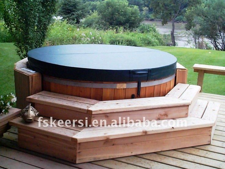 These Smashing Backyard Ideas Are Hot And Happening: Best 25+ Outdoor Hot Tubs Ideas On Pinterest
