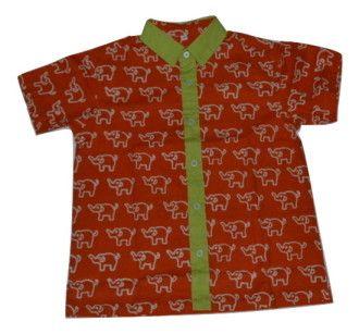 Kemeja Batik Anak Abhinaya K-136A
