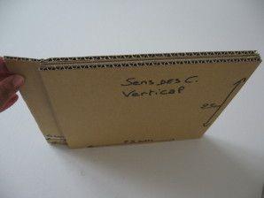 Comment réaliser une porte et charnière en carton - meubles en carton marie krtonne