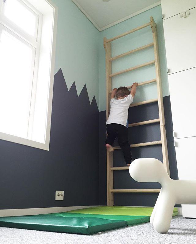 K j e k t !✨ #ribbevegg #leikerom #klatre #interiør #interiørinspirasjon #nordiskehjem #bolignytt #interiør123 #boligpluss #minstil #playroom #interior #interiorinspiration