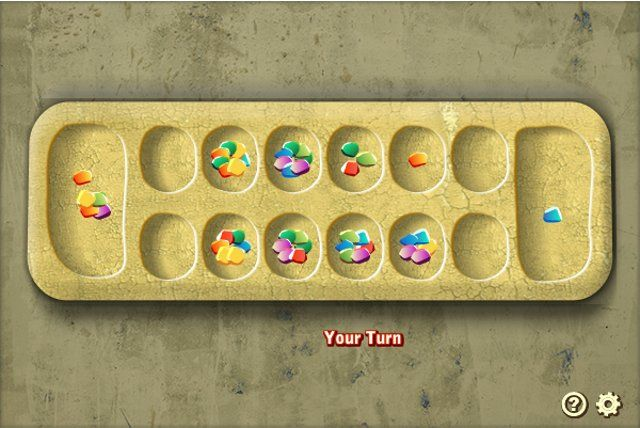 Brain Games Logic Games Mancala.  This is a well-known Arabic board game that dates back to the ancient times. Thankfully, it is now made accessible to the online community, so that everyone can enjoy it anywhere in the world and play it anytime you want. The goal of this game is to collect the most number of gems into your cup or as they call it, in your mancala.