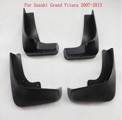 For Suzuki Grand Vitara 2007 2013 Mud Flaps Guard Mudguard Fenders Splash Flaps Automobile Car Styling Accessories 4pcs