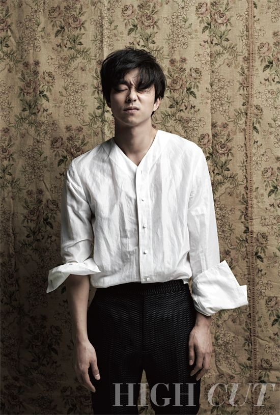 Gong Yoo - High Cut Magazine Vol.114