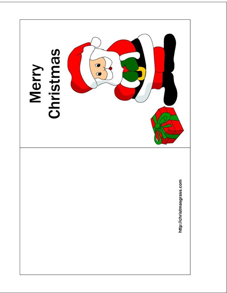 Free Printable Christmas Cards | Free printable Christmas Card with ...