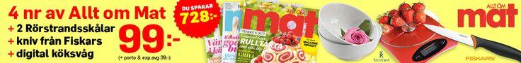 Recept, Middagstips, Vintips, GI, Kladdkaka, Festmat | Allt om Mat