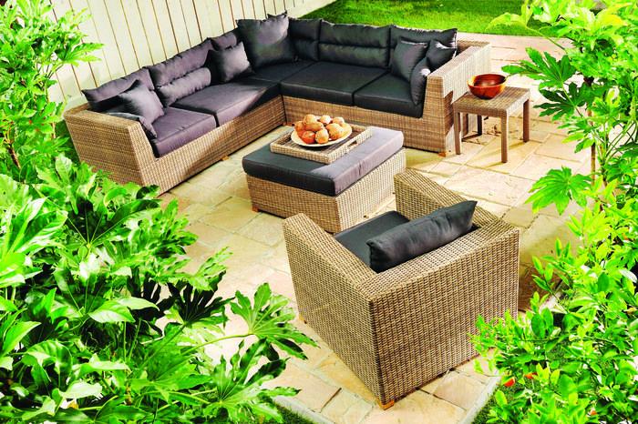 Donica ogrodowa MONDIAL 35X35X35 cm., Miloo Home - Wyposażenie wnętrz