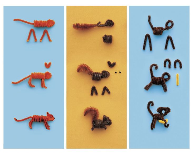 Pipe Cleaner Pals | AllFreeKidsCrafts.com