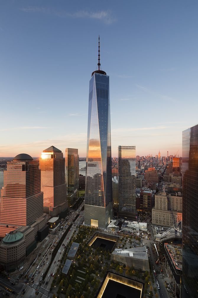 The new One World Trade - NYC - but we will never forget 09.11.2001