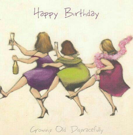 Ne gelukkige verjaardag en geniet ervan ....tot gauw met n lekker wijntje erbij! xx