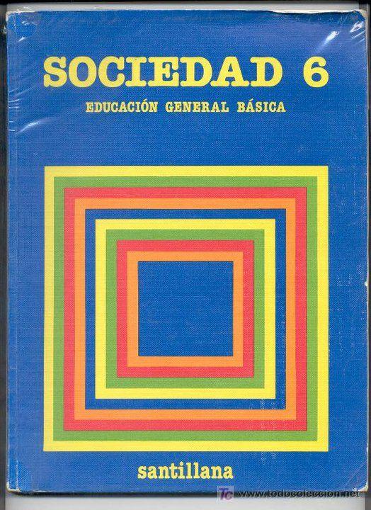 Libro Sociedad de sexto
