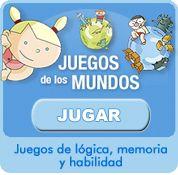 Juegos de memoria, lógica y habilidad para niños.