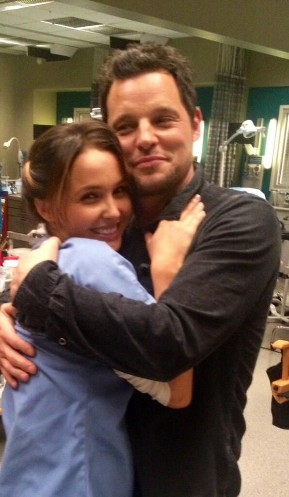 Camilla Luddington / Justin Chambers / Greys Anatomy